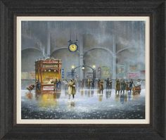 Until The Last Minute, Jeff Rowland - Framed