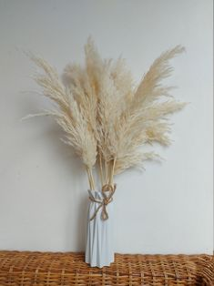 10 Stems Pampas Grass Decoration Extra Fluffy Dried | Etsy Ikea Malm Dressing Table, Bright Rooms, Pampas Grass, Nordic Style, Decoration, Stems, Glass Vase, Beautiful, Etsy