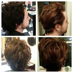 Mens cut and colour