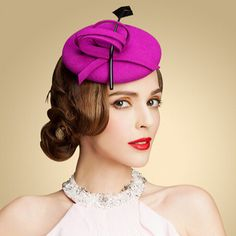Fashion feather pillbox hats with fascinators for women felt. Pillbox  HatFascinator HatsFascinatorsAfrican HatsOccasion HatsPink ... 07cc4aa6ae44