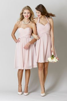 Kennedy Blue Bridesmaid Dresses Lucy and Addison