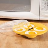 Microwave Cooking - Microwave Egg Cooker - Steamer - Miles Kimball