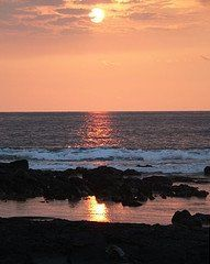 Kailua-Kona, Hawaii sunset