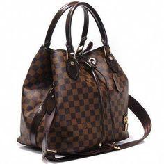 10d6ec337 Bolsa Louis Vuitton – Neo – Damier Ebene – Couro Legitimo  #Louisvuittonhandbags