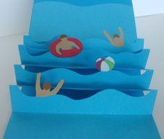 Einladung Kindergeburtstag Schwimmen Basteln | Geburtstag ...