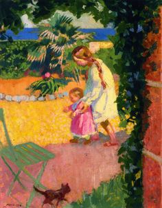 The Athenaeum - Alo in front of the Guard House (Maurice Denis - )