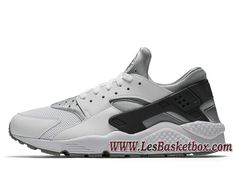 brand new d427d 79a4d Nike Air Huarache Wolf Grey 318429 103 Nike Urh Run Homme Grey - 318429 103  - Le Originals