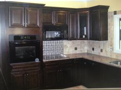 Findley & Myers Palm Beach Dark Chocolate Cabinets | Kitchen ...