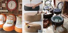 diy project - sofa dari ban mobil bekas