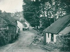 size: Photographic Print: 'Glenoe: An Antrim Glynn Village', by Robert John Welch : Irish Cottage, Old Cottage, Ireland Pictures, Old Pictures, John Welch, Ireland People, Old Time Photos, Research Images, Irish Culture