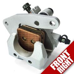 Front Brake Caliper Yamaha Grizzly 660 Right Side Pad YFM 4WV2580U1000 04 05  #50CaliberRacing