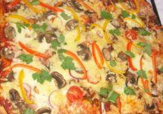 Scone Base Pizza Recipe