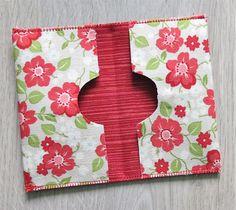 Fabric card holder tutorial