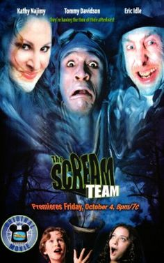 """The Scream Team. This doesn't even look like them. But alas -- @katdennings got her start on this movie, and I totally renamed every kid named 'Zach' to """"Zacharias Kull"""""""