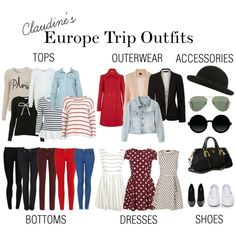 My Europe Trip Outfits