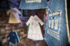 """Mini dress di Marina Majcen #TextileArt #FiberArt """"Invisible Souls"""" dal 25 giugno al 5 luglio 2014 presso Materia Grigia (dorsoduro 1750, Venezia) event and show curator: Francesca Anzalone foto di Cecilia Pennisi"""