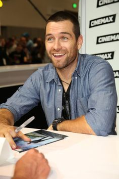 Antony Starr at the Warner Bros Entertainment at Comic-Con International 2013 - Day 2 -