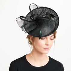 1f413f5da499c John Lewis   Partners Jess Upturn Medium Disc Occasion Hat