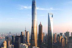 Shanghai Tower : ladeuxième plus haute tourdumonde, plus près desnuages - Linternaute