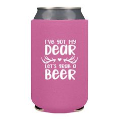 Wedding Can Coolers For Your Country Hunting Themed Koozies