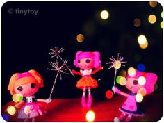 #Lalaloopsy fireworks... Happy New Year!