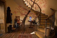 image hallway brown house paddington movie - Google Search