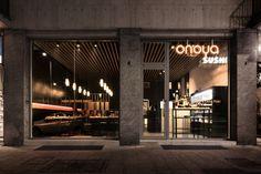 Onoya sushi restaurant by Archiplan Studio Brescia  Italy