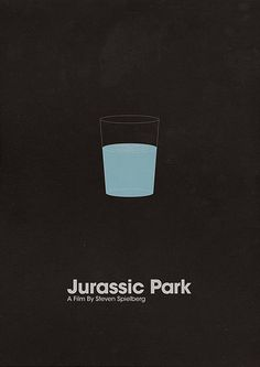 48 Minimal Movie Poster Designs... Love the simplicity of iconic moments