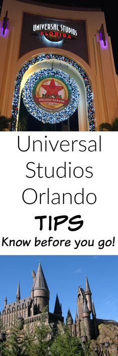 Universal Studios Orlando Tips - things to know before you go!