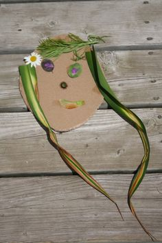 Using elements of nature to create faces