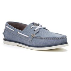 SONOMA Goods for Life™ Men's Lace-Up Boat Shoes, Size: 10.5, Blue