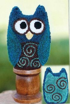 needle punch owl
