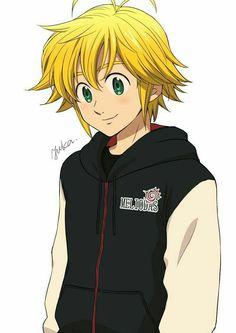 Tatouage Seven Deadly Sins, Seven Deadly Sins Anime, 7 Deadly Sins, Meliodas And Elizabeth, Elizabeth Liones, Otaku Anime, Manga Anime, Anime Love, Anime Guys