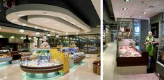 Azbuka Vkusa   SCG London Retail Sector, Retail Design, London, Google, Projects, Log Projects, Blue Prints, London England