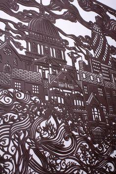 andy singleton: London Paper Cut
