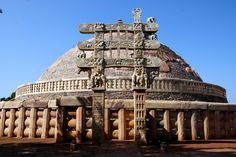 Stupa I - Sanchi, India | 11 Of The Oldest Buildings That Are Still Standing