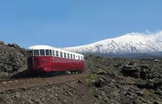 If you don't have time to climb to Etna's summit, there are other options and one of them is to take the Circumetnea train. The 110 km long railway is a private line that runs around the base of th…