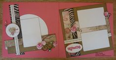 Beautiful layout using CTMH Roxie paper packet. I feel a scraplift coming on.