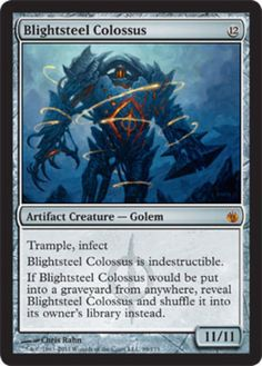 Blightsteel-Colossus-x1-Magic-the-Gathering-1x-Mirrodin-Besieged-mtg-mythic-rare