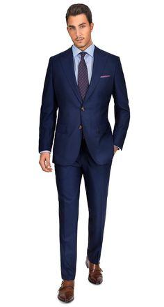 Sartoria Premium Blue Super 160s Suit