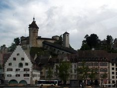 Munot Fortress in Schaffhausen, Switzerland