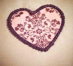 Crochet on fabric