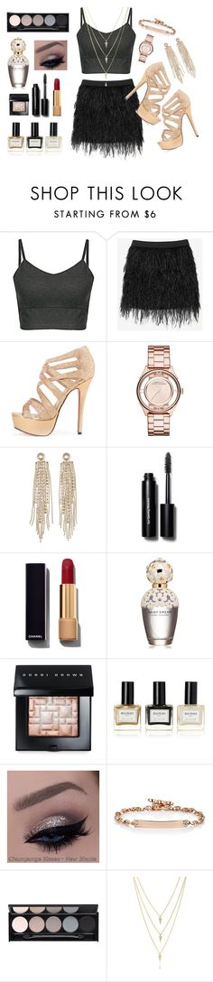 """""""#16"""" by milan-inez on Polyvore featuring Mason by Michelle Mason, Marc by Marc Jacobs, Charlotte Russe, Bobbi Brown Cosmetics, Chanel, Marc Jacobs, Balmain, Hoorsenbuhs and Witchery"""