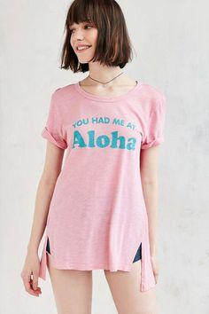 Truly Madly Deeply You Had Me At Aloha Tunic Tee