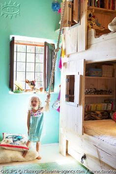 Fun kids room / bunk beds
