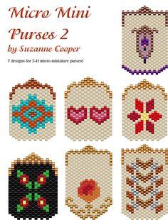 Micro Mini Purses 2 | Bead-Patterns