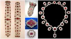 The parure was finally auctioned off along with much of the rest of the crown collection by the Third Republic in 1887.