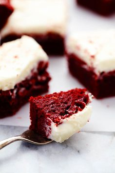These red velvet brownies are seriously the perfect brownie recipe! Perfectly moist and chewy with the bright red color. The cream cheese frosting is the perfect finishing touch! These are AMAZING! These are literally one of the best brownies that I have ever had. I have been working so hard to lose those extra holiday …