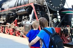Take your homeschooler on a trip to a railroad museum