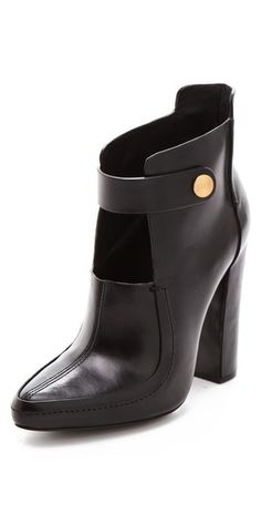 Alexander Wang Kamila Mary Jane Booties pinned with Bazaart